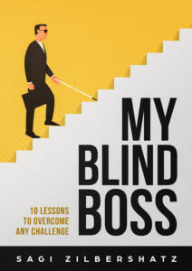 My upcoming book- My Blind Boss