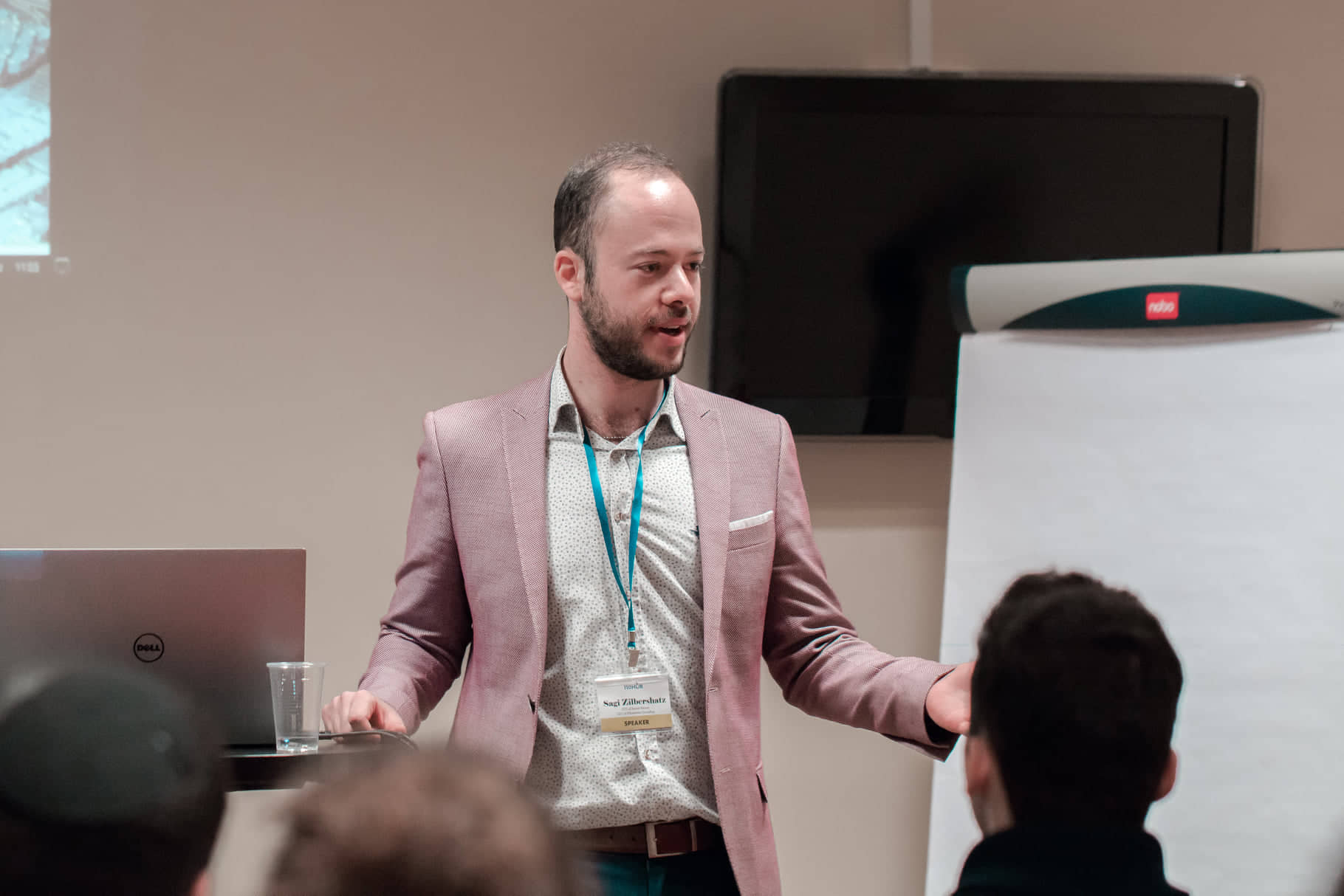 Sagi Zilbershatz public speaking